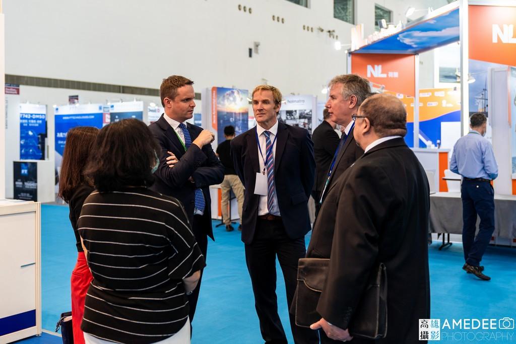 亞太國際風力發電展暨產業論壇在高雄展覽館活動攝影