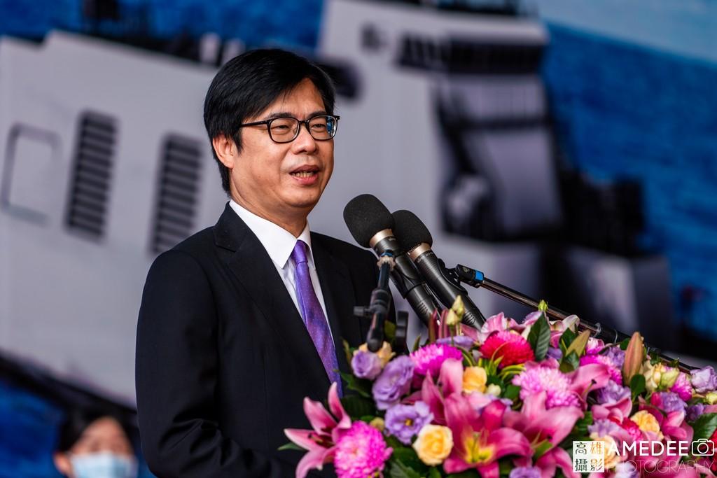 行政院副院長陳其邁在中信造船交船典禮致詞