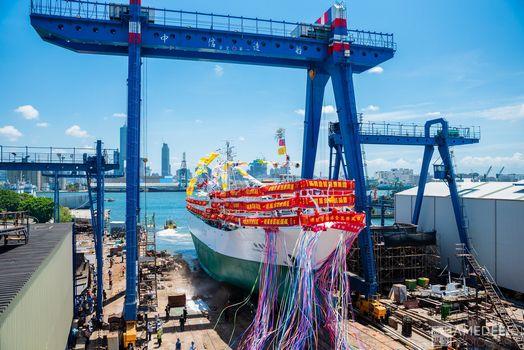 中信造船下水典禮活動紀錄