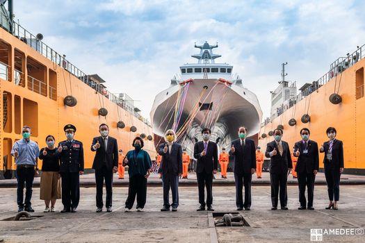 中信造船國艦國造交船典禮活動紀錄