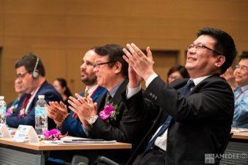 高雄展覽館台灣國際農業週開幕典禮經濟部政務次長曾文生鼓掌活動紀錄