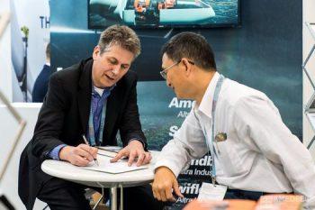 高雄展覽館亞太風力發電展客戶討論活動紀錄