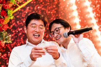 丹利電子在台北W飯店尾牙抽獎活動紀錄