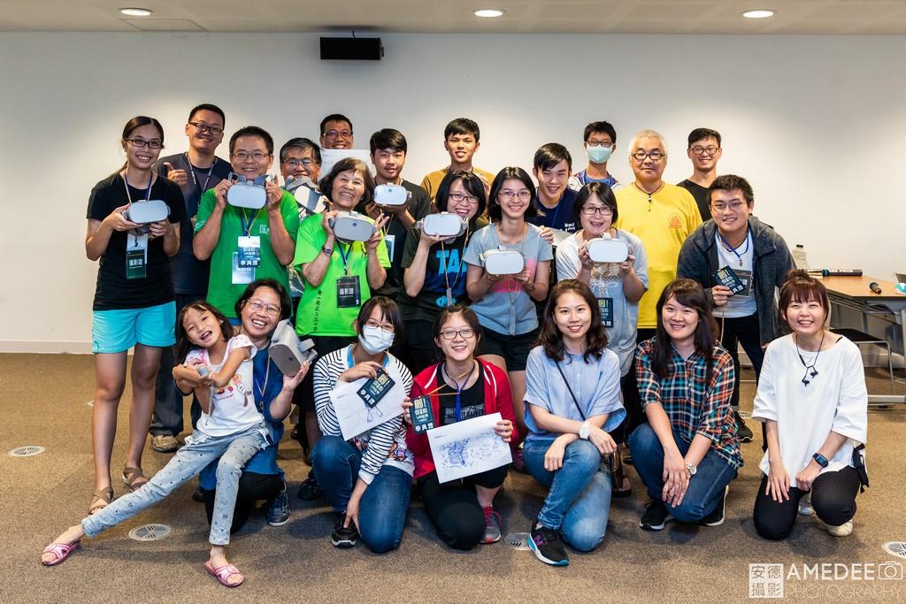VR體驗營參加者合照