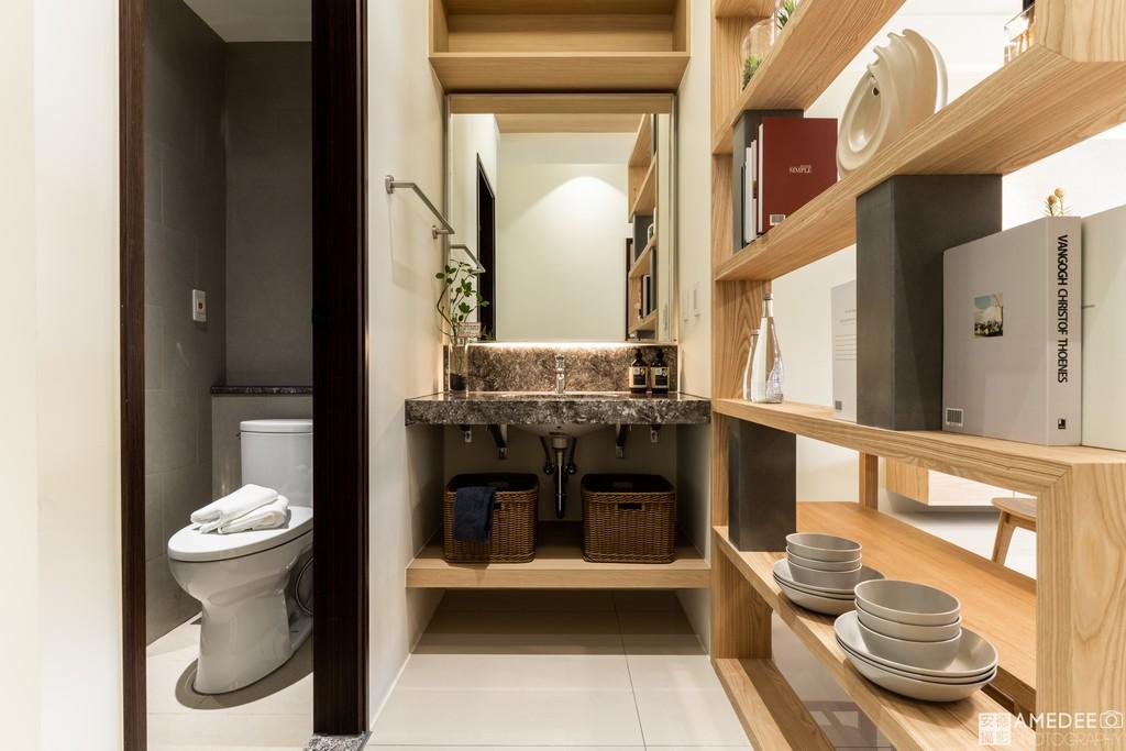 實品屋廁所空間照