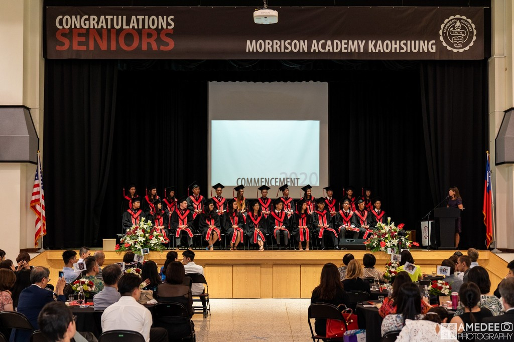 馬禮遜美國學校畢業典禮