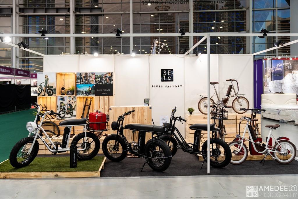 高雄展覽館新創生活展腳踏車展覽空間照