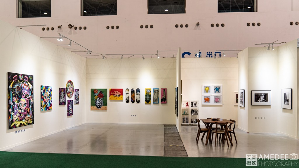 高雄展覽館新創生活展藝術品展覽空間照